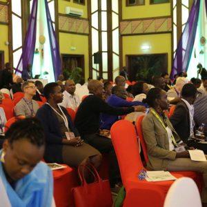 Delegates at the 1st Africa Social & Behaviour Change Conference; Feb 19 - 21, 2019.